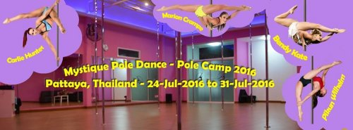 Mystique pole dance summer camp - Day 4